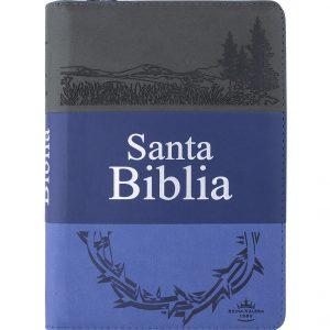 Biblia letra Grande con cierre rvr1960